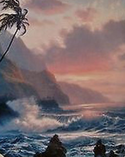 An Evening in the Islands 1993 Limited Edition Print by Roy Tabora