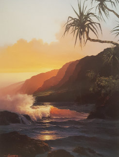 Last Rays of Summer AP 1986 Limited Edition Print by Roy Tabora