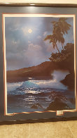 Reflection of a Tropical Moon  AP 1989 Limited Edition Print by Roy Tabora - 2