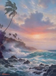 Tropical Splendor 1993 Limited Edition Print - Roy Tabora