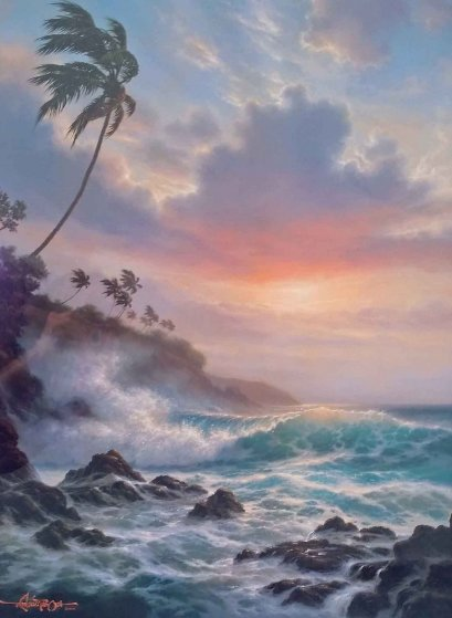 Tropical Splendor 1993 Limited Edition Print by Roy Tabora