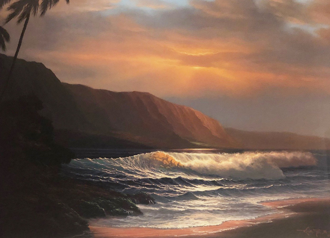 A Summer Days Glow AP 1986 Limited Edition Print by Roy Tabora