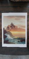 Trail of Gold 1993 Limited Edition Print by Roy Tabora - 1