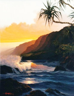 Last Rays of Summer 1986 Limited Edition Print by Roy Tabora