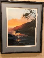Last Rays of Summer Hawaii 1986 Limited Edition Print by Roy Tabora - 1
