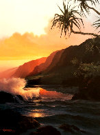 Last Rays of Summer Hawaii 1986 Limited Edition Print by Roy Tabora - 0