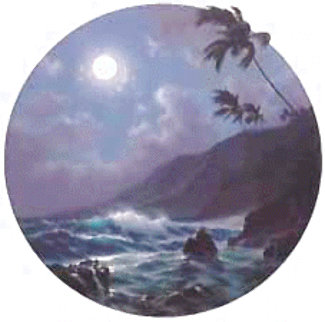 Eternal Rhythm Suite: Moonrise 1993 Limited Edition Print - Roy Tabora