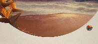 Daybreak And Moonrise, Suite of 2 Prints, Embellished Remarque Limited Edition Print by Roy Tabora - 5