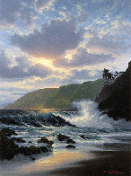 Island Rapture With Remarque Hawaii Limited Edition Print by Roy Tabora - 0