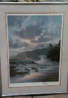 Island Rapture With Remarque Hawaii Limited Edition Print by Roy Tabora - 1