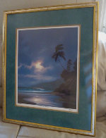 Gentle Surge Hawaii 1993 Limited Edition Print by Roy Tabora - 1
