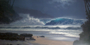 Midnight Enchantment Hawaii 2000 Limited Edition Print - Roy Tabora