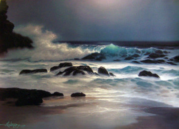 Pensive Hawaii 1992 Limited Edition Print by Roy Tabora