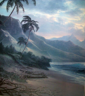 Forever Paradise Diptych, Hawaii Limited Edition Print by Roy Tabora