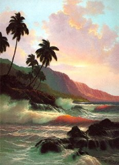 Evening Splendor Hawaii 1985 Limited Edition Print - Roy Tabora
