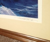 Evening Splendor  Hawaii 1985 Limited Edition Print by Roy Tabora - 2