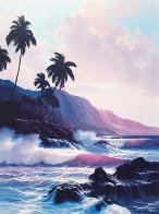 Evening Splendor  Hawaii 1985 Limited Edition Print by Roy Tabora - 0