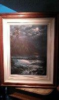 Moonlight Rhapsody Hawaii Limited Edition Print by Roy Tabora - 1