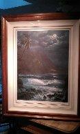 Moonlight Rhapsody Hawaii Limited Edition Print by Roy Tabora - 4