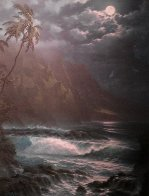Moonlight Rhapsody Hawaii Limited Edition Print by Roy Tabora - 0
