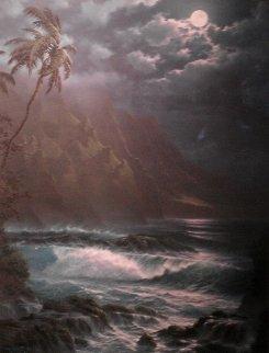 Moonlight Rhapsody Hawaii Limited Edition Print by Roy Tabora
