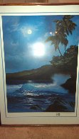 Reflections of a Tropical Moon 1987 w Remarque Limited Edition Print by Roy Tabora - 1