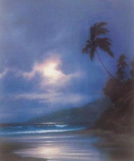 Gentle Surge Hawaii 1993 Limited Edition Print by Roy Tabora