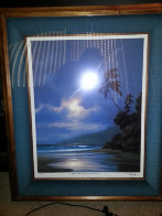 A  Gentle Surge  Greets the Morning Sun AP 1993 Limited Edition Print by Roy Tabora - 1