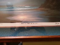 A  Gentle Surge  Greets the Morning Sun AP 1993 Limited Edition Print by Roy Tabora - 2