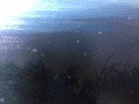 Beneath the Midnight Skies 1989 36x18 Original Painting by Roy Tabora - 1