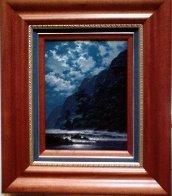 Azure Dreams 2006 17x21 Original Painting by Roy Tabora - 2