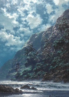 Azure Dreams 2006 17x21 Original Painting by Roy Tabora