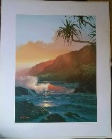 Last Rays of Summer 1986  Limited Edition Print by Roy Tabora - 1
