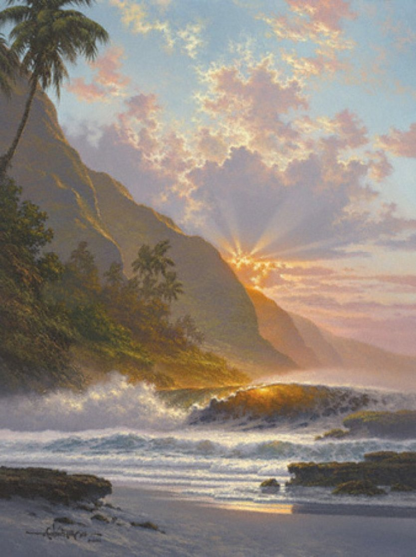 Behold the Summer Sun 2002 Limited Edition Print by Roy Tabora