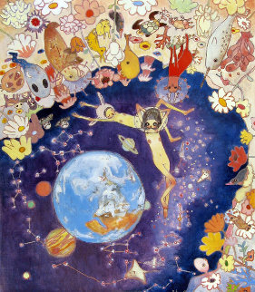 Earth 2006 Limited Edition Print - Aya Takano