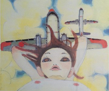Fallin' Manma Air 2005 Limited Edition Print - Aya Takano