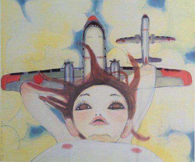 Fallin' Manma Air 2005 Limited Edition Print by Aya Takano