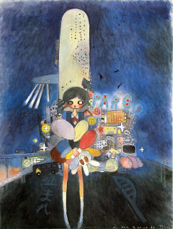 Little Stars of City Child 2006 Limited Edition Print - Aya Takano