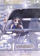 Drive With a Night Dog Limited Edition Print by Aya Takano - 0