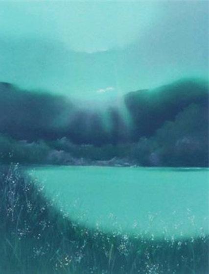 Lake Takoit 1987 Limited Edition Print by Seikichi Takara