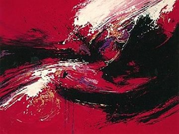 Red Karma 1991 Limited Edition Print - Seikichi Takara