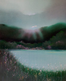 Lake Arakat AP 1983 Limited Edition Print - Seikichi Takara