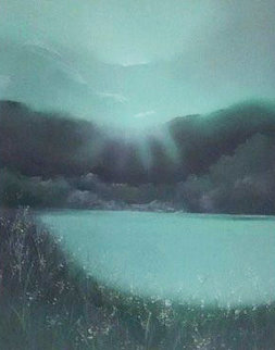 Lake Arakat 1983 Limited Edition Print - Seikichi Takara