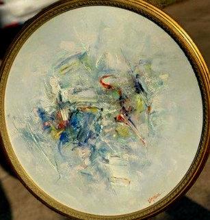 Untitled #9505-00 1995 20x20 Original Painting - Seikichi Takara