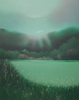 Lake Arakat PP 1983 Limited Edition Print by Seikichi Takara