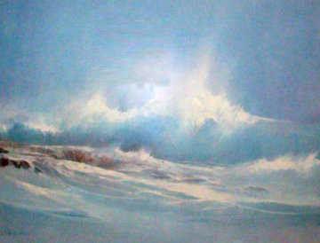 Hawaiian Seascape 1983 Limited Edition Print - Seikichi Takara