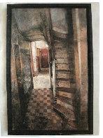 l'Esca Liere 136 Bis 2003 26x17 Original Painting by Chiu Tak Hak - 1