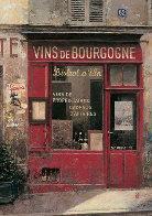 Burgundy Wine (Vins De Bourgogne) 1996 12x9 Original Painting by Chiu Tak Hak - 0