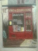 Burgundy Wine (Vins De Bourgogne) 1996 12x9 Original Painting by Chiu Tak Hak - 5