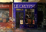 Calypso 1997 14x19 Original Painting - Chiu Tak Hak